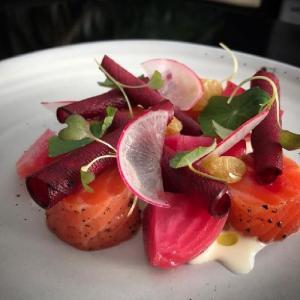salmon private chef tova table at home