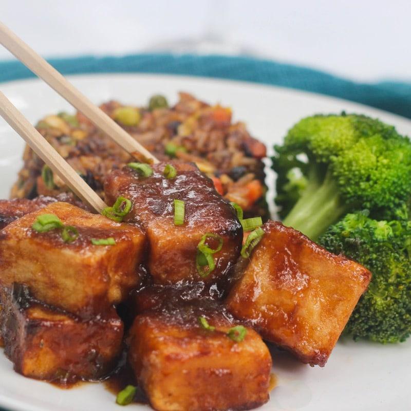 General T\'sos tofu
