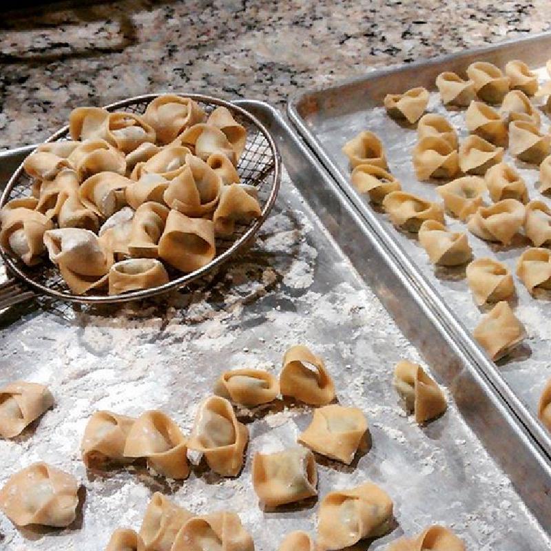 Handmade sutffed pasta