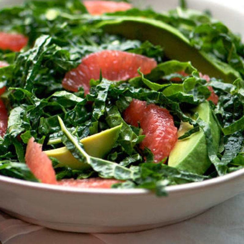 Kale and Grapefruit salad