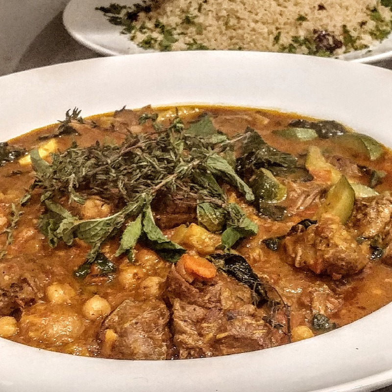 Moroccan Lamb Ragu