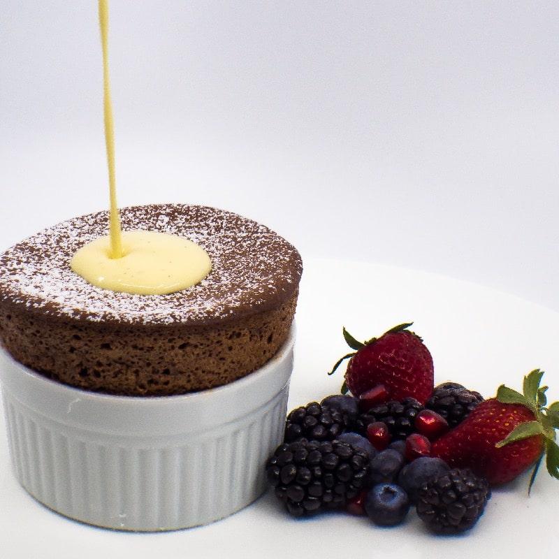 Valrhona Chocolate Soufflée