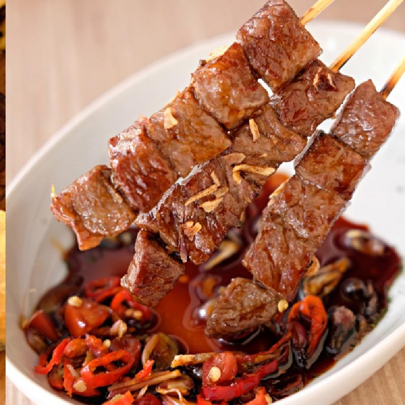 Taiwanese Steak Sate