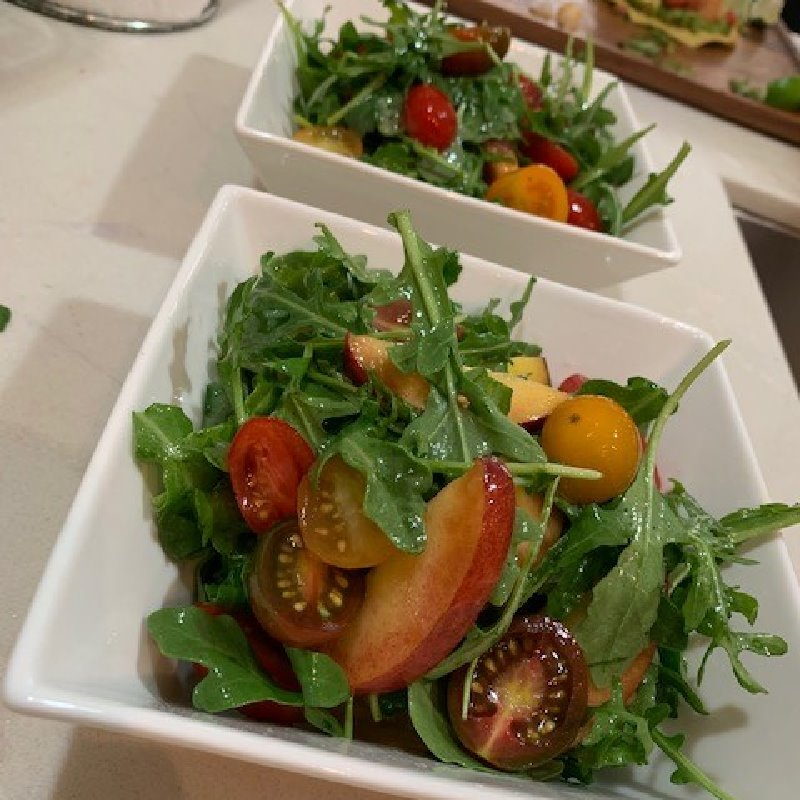 Heirloom Tomato & Peach Salad