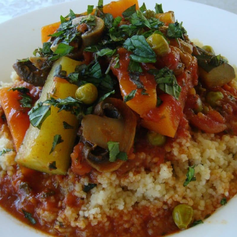 ROASTED VEGETABLE COUS-COUS