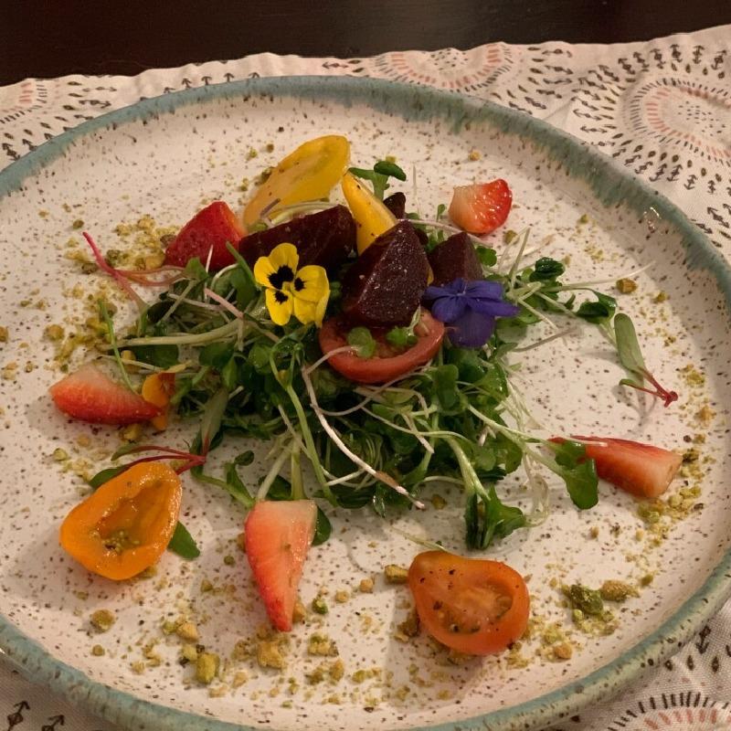 Salad of Super Greens