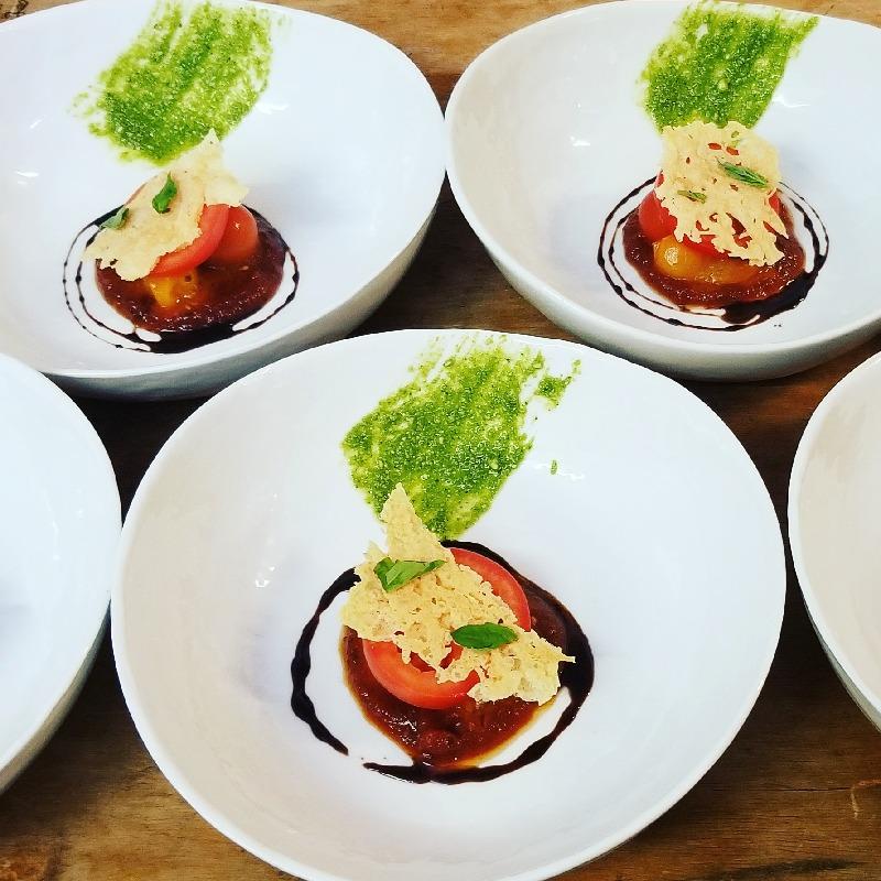 Textures of Tomato