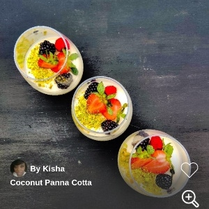 Coconut Panna Cotta Chef Kisha 300x300