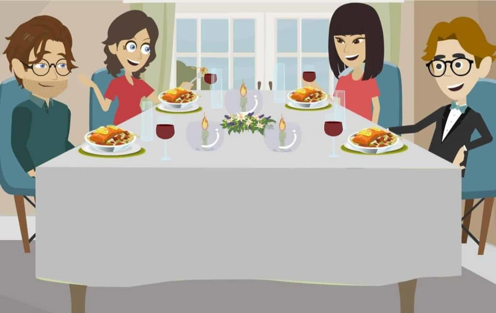 Sit back and enjoy having a meal at home with a personal chef from Table at Home