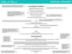 Tah Proposal Tips Infographic