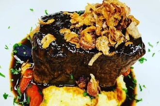 Beef Short Rib On Truffle Mash Private Chef John 33x220 95